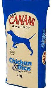 Canami chick o ris blå 57x57
